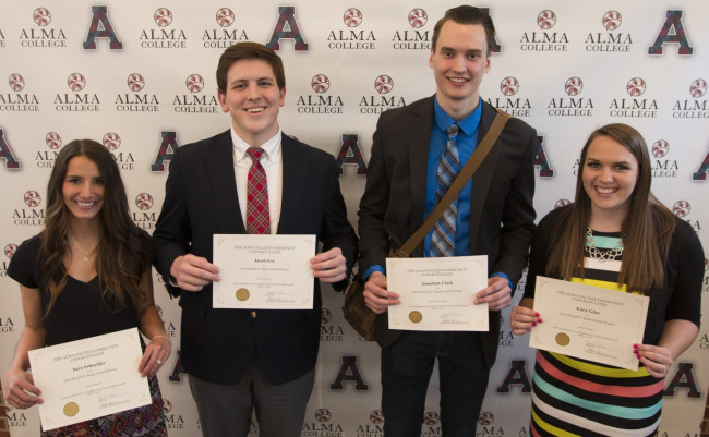 2016 Kapp Honors Day Prize Winners