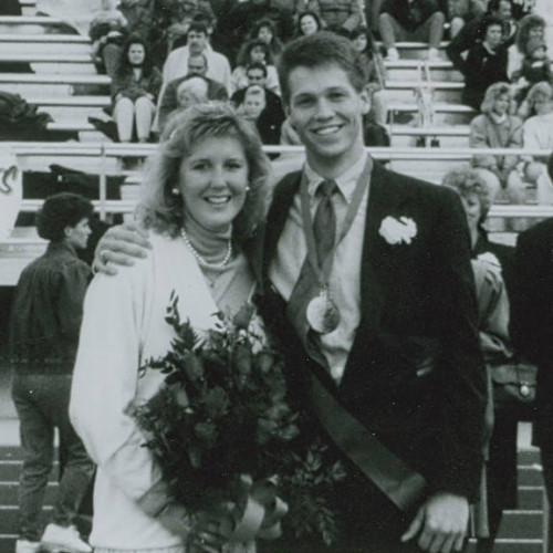 Class of 1989 Homecoming King and Queen