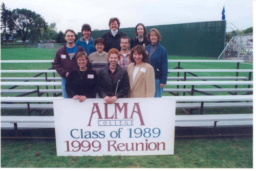 Class of 1989 10-year Reunion in 1999
