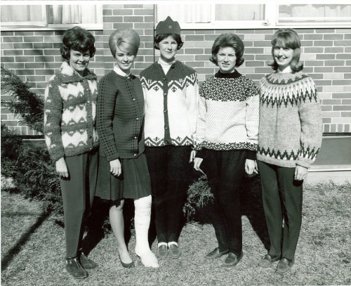 Class of 1964 Snow Carnival Queen and Court