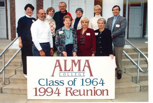 Class of 1964 30-year reunion in 1994