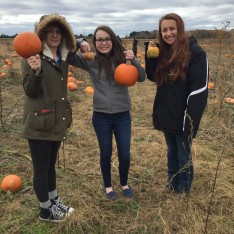 Mentor and Mentee Pumpkin Picking
