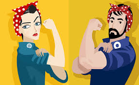 Rosie the Riveter image.