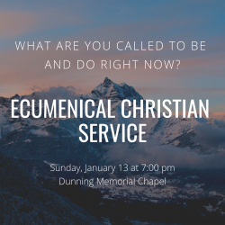 First Sunday Night Service of 2019!
