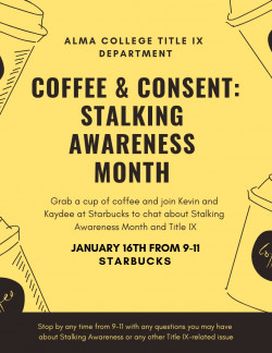 Coffee & Consent with Title IX