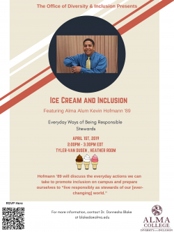 Ice Cream and Inclusion: Featuring Alumnus Kevin Hofmann