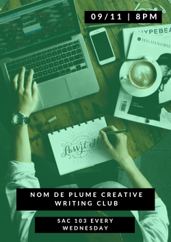 Nom de Plume Creative Writing Club