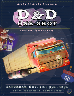 D&D One-Shot w / APA ~ Space Trucker Edition