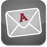 Icon to launch Alma College email