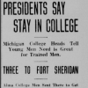 An August 1918 article from the Alma Record.