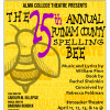 "Alma College Theatre presents: ""The 25th Annual Putnam County Spelling Bee."""
