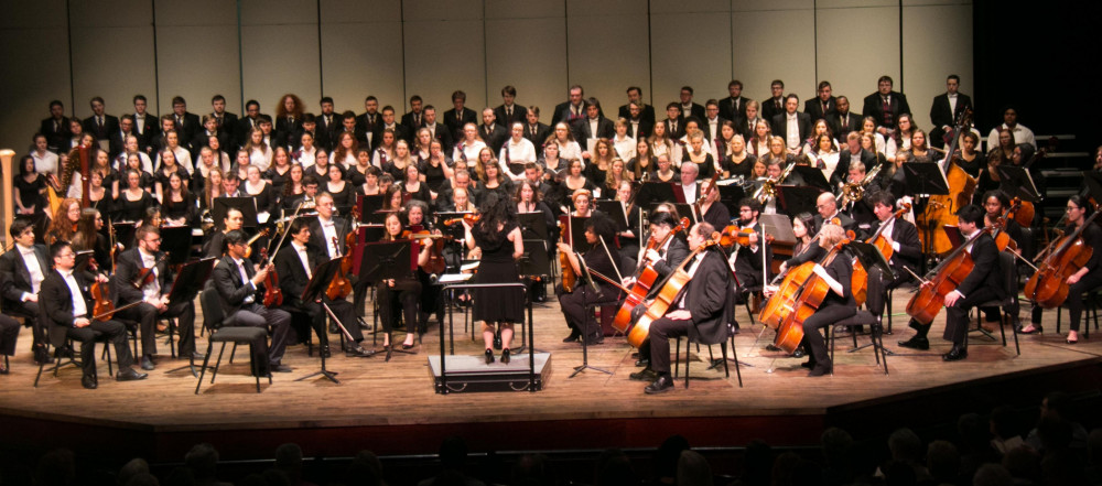 Alma Symphony Orchestra and Alma Choirs