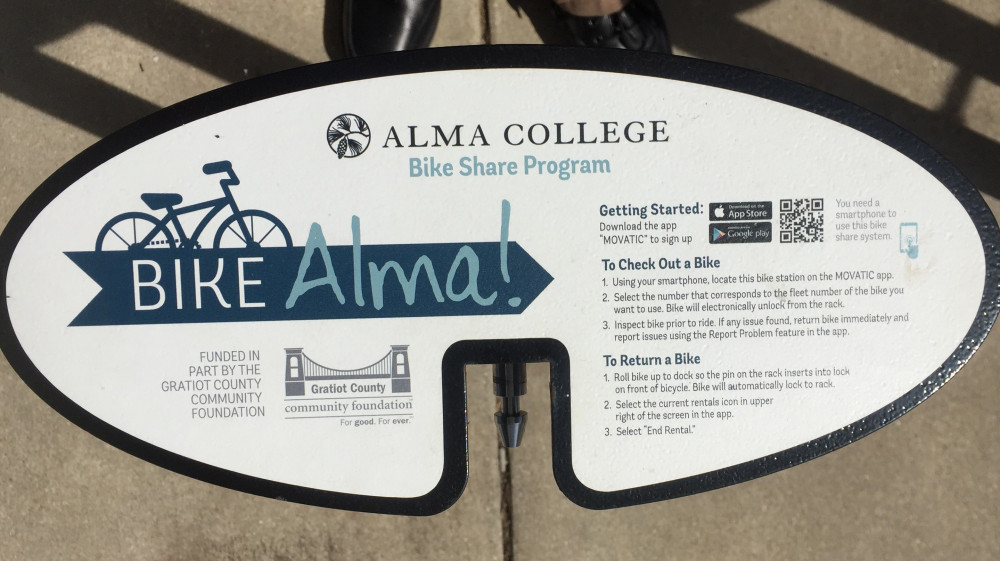 Bike-share instructions.
