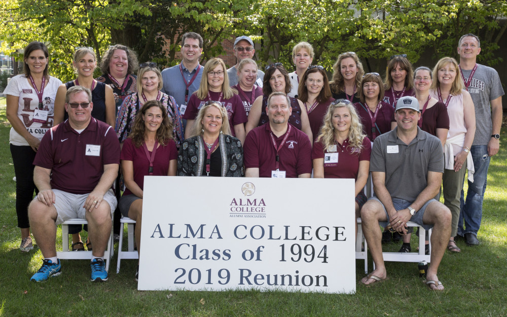 The 25-year class of 1994.