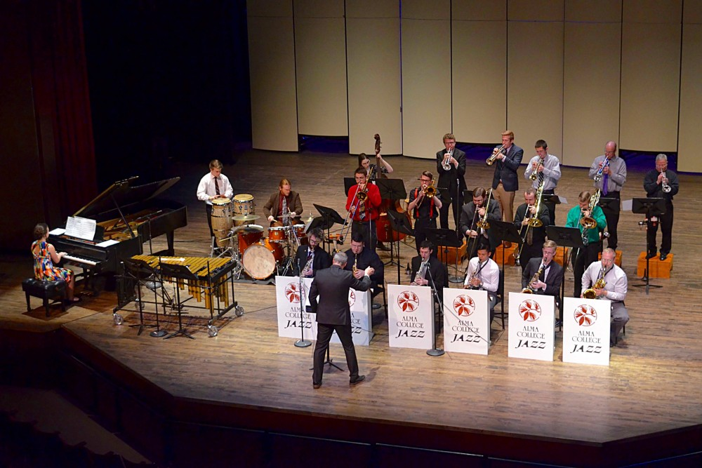 Alma College Jazz Ensemble