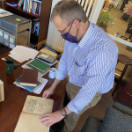 Alma College's Oldest Book Discovered in Special Collections Library