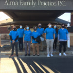 Alma College Volunteers Help Family Practice Deliver COVID-19 Vaccines
