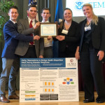 Students Earn Research Award at FEMA Conference