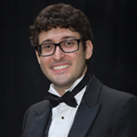 Dr. Jonathan Spatola-Knoll, director of the Alma Symphony Orchestra