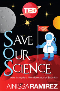<em>Book cover: 'Save Our Science'<br><br></em>