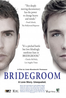 "<em>Move poster for ""Bridegroom: A Love Story. Unequaled.""</em>"