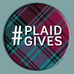 #PlaidGives button.
