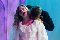 "Alma College Theatre performs ""Dracula."""