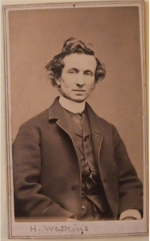 Harry Watkins. Photo courtesy of Houghton Library, Harvard University.
