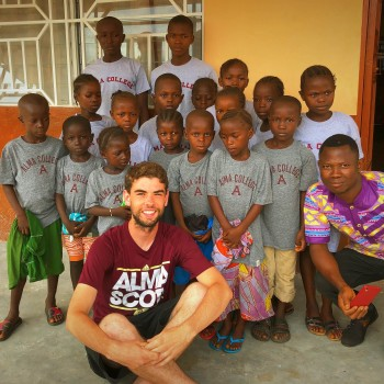 Daniel Lynch in Sierra Leone.