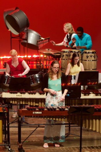 <em>Alma College Percussion Ensemble</em>