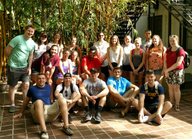 Spring Term at the Hemingway House in Florida.