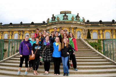 Spring Term students visit Germany.