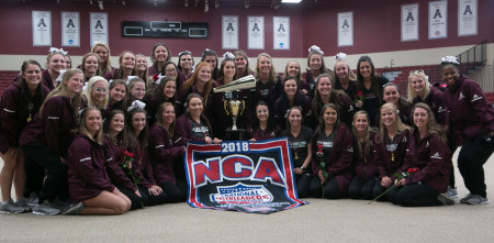 The cheer team: National champions.