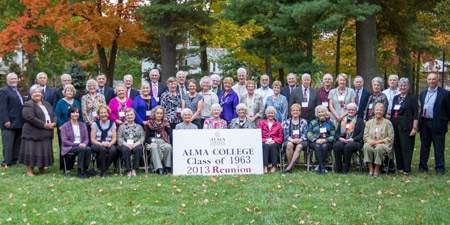The 50-year reunion class of 1963.
