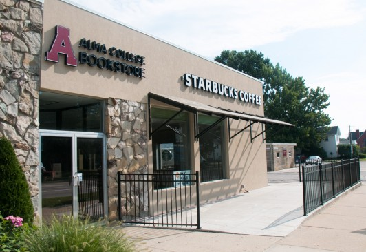 <em>Alma College Bookstore and Starbucks</em>