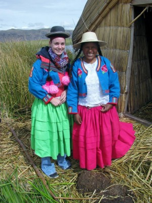 Brittney Deerfield traveled to Peru for her spring term course.