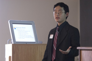 Will Allen, presenting at 2011 Honors Day