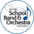 Michigan School Band and Orchestra Association logo