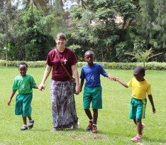 Alma College student Rachel Dobyns spent a month at the Kigali International Community School in Rwanda, teaching classes and leading ensembles.