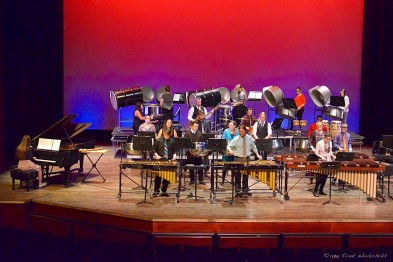 Alma College Percussion ensemble.