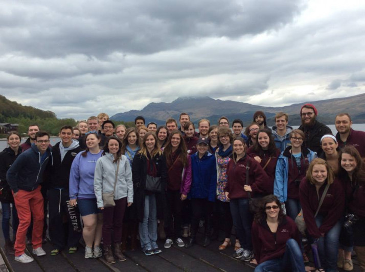 to sing Loch Lomond at Loch Lomond!
