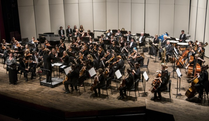 The Alma Symphony Orchestra concert featured soprano Victoria Walker.