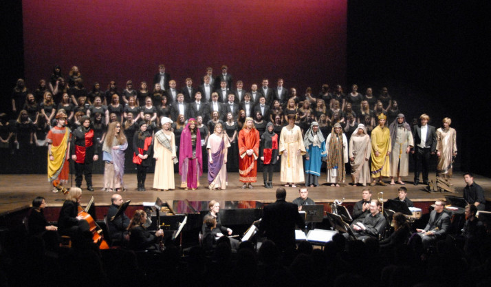 Curtain call for Honegger <em>King David</em>.