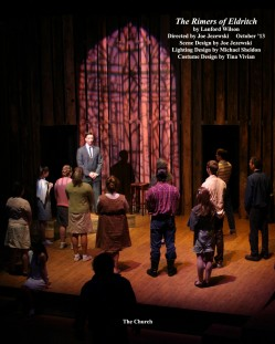 "The Rimers of Eldritch by Lanford Wilson.  Directed by Joe Jezewski.  ""The Church"""