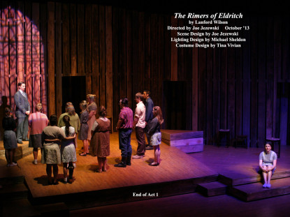 "The Rimers of Eldritch by Lanford Wilson.  Directed by Joe Jezewski.  ""End of Act I"""