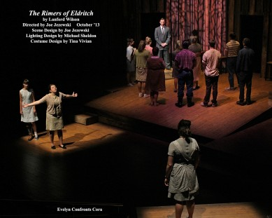 "The Rimers of Eldritch by Lanford Wilson.  Directed by Joe Jezewski.  ""Evelyn confronts Cora"""