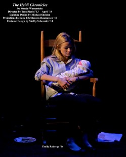 The Heidi Chronicles by Wendy Wasserstein.  Directed by Tara Riedel '13.  Featuring Emily Roberge '14.