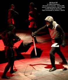 Richard III by William Shakespeare.  Fight Choreography by Michael C. Sheldon.