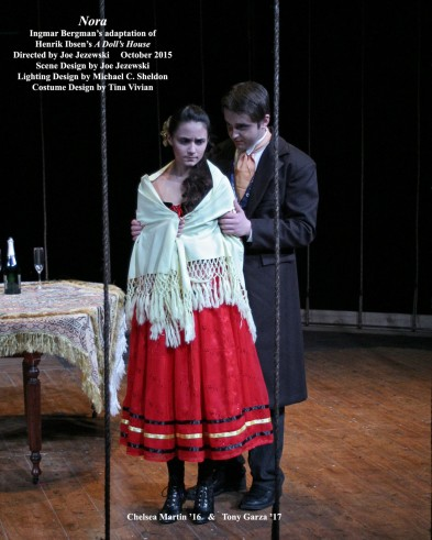 <em><strong>Nora</strong></em> - Ingmar Bergman's adaptation of Henrik Ibsen's <em>A Doll's House</em>.  October 2015.