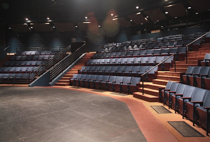 The Strosacker Theatre from Down Right Stage.
